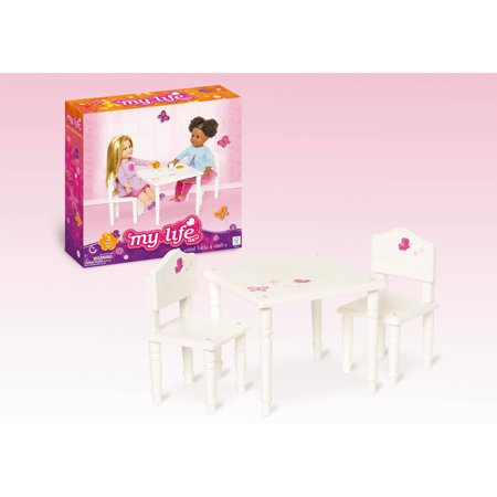 "my life as 18"" doll furniture, table and chairs - walmart"