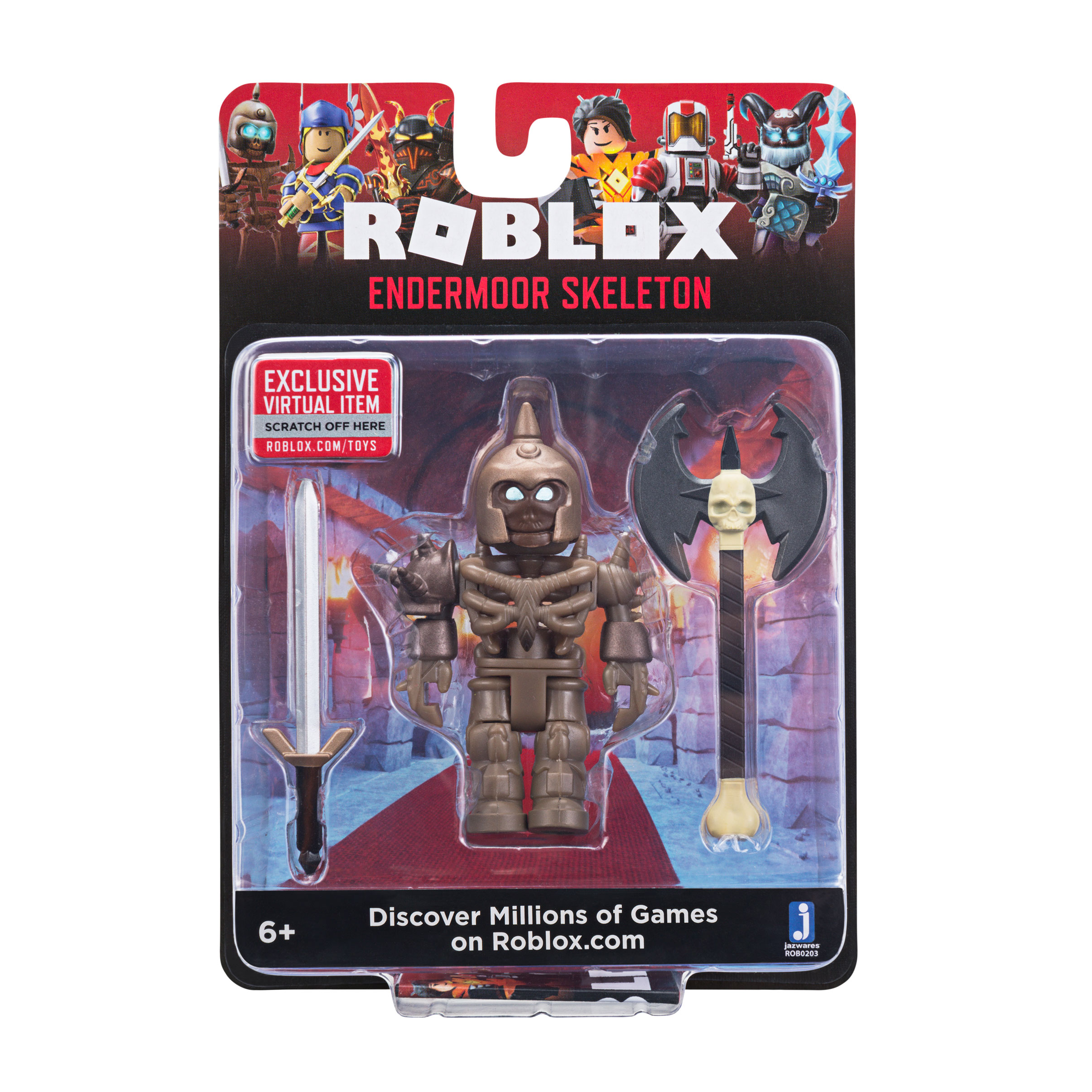 Roblox Core Figures Endermoor Skeleton W6 Walmart Com Walmart Com