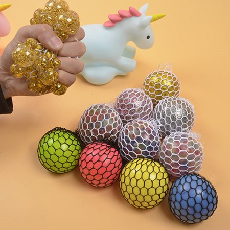 Vent Hand Squeeze Pinch Grape Ball Whole Person Whole Decompression Toy Funny Creative Water Ball Squeezing - image 4 of 6