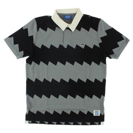 Adidas Mens Serrated Rugby Polo (Adidas Jersey Rugby)