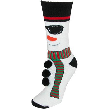 Size  one size Women's Christmas Pattern Slipper Socks