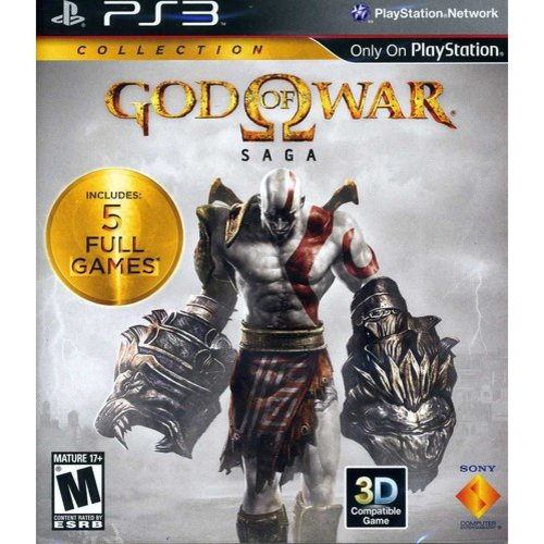GOD OF WAR SAGA DUAL PACK (M) PS3 ACTION