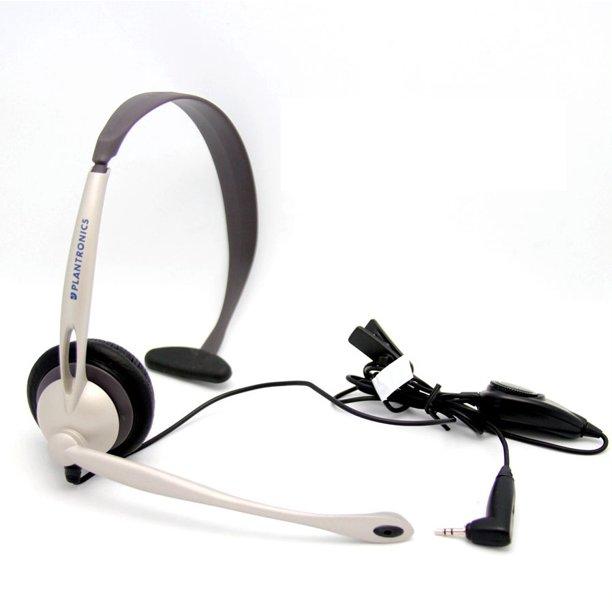Plantronics M114 Headset For Mobile Cordless Phone Universal 2 5mm Headsets Walmart Com Walmart Com