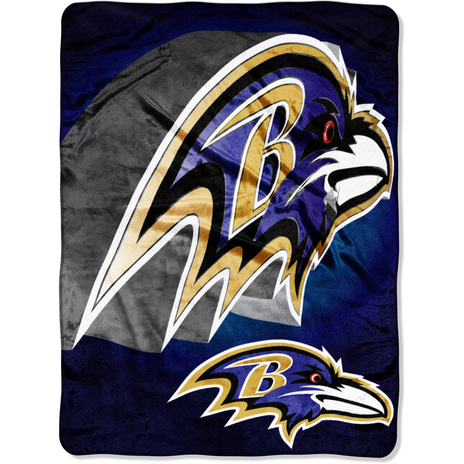 "NFL Baltimore Ravens 60"" x 80"" Oversized Micro Raschel Throw"