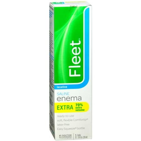 6 Pack - Fleet Extra Cleansing & Relief Enema 7.80