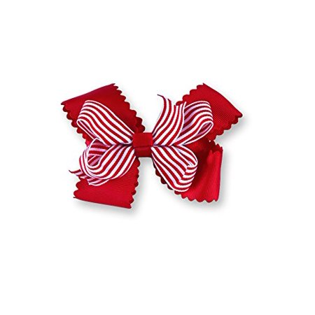 c94f30eda11e5 Mud Pie Night Before Christmas Baby Girl 3-In-1 Holiday Hair Bows ...