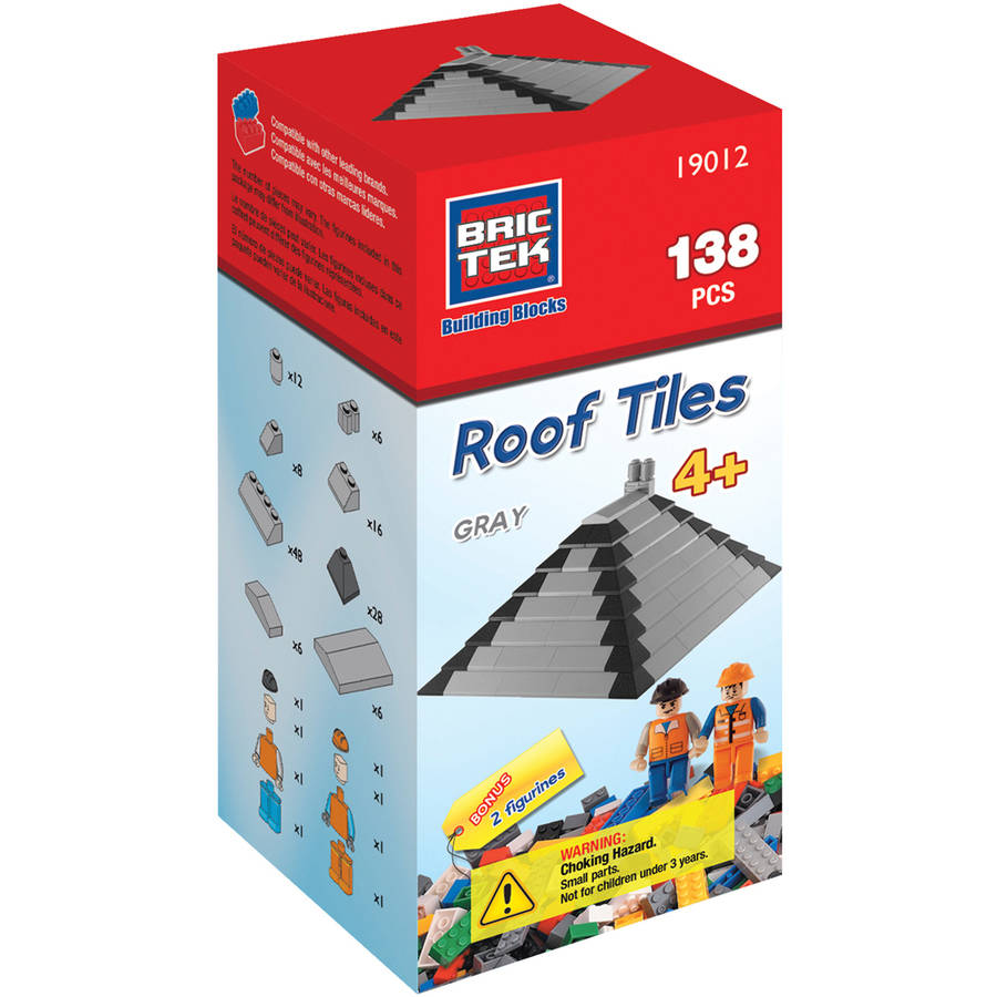 Brictek Roof Tiles, Grey