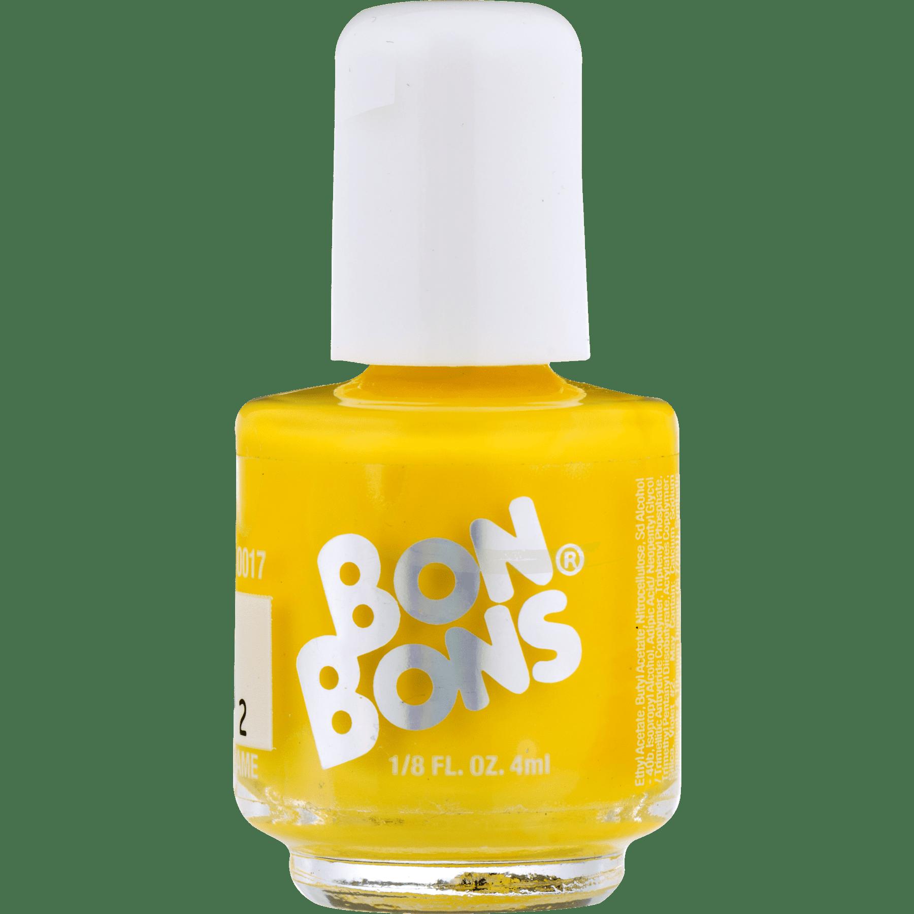 Nail Polish Png Yellow