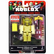 Roblox Action Collection - Booga Booga: Shark Rider Figure Pack [Includes Exclusive Virtual Item]