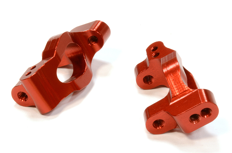 Integy RC Toy Model Hop-ups C25783RED Billet Machined Caster Block (2) for Traxxas LaTrax... by Integy