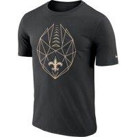 d9581640 Product Image Nike Men's New Orleans Saints Icon Performance Black T-Shirt
