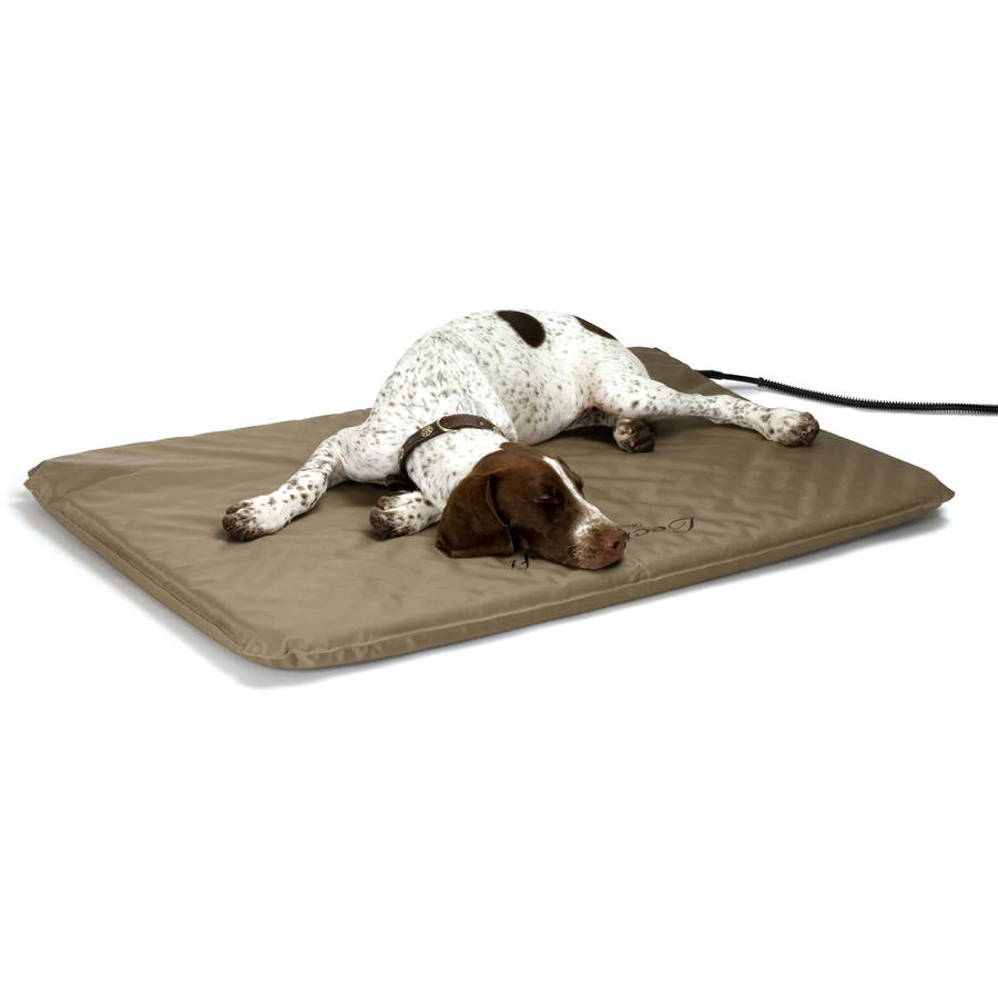 k&h lectro-soft outdoor heated bed - walmart