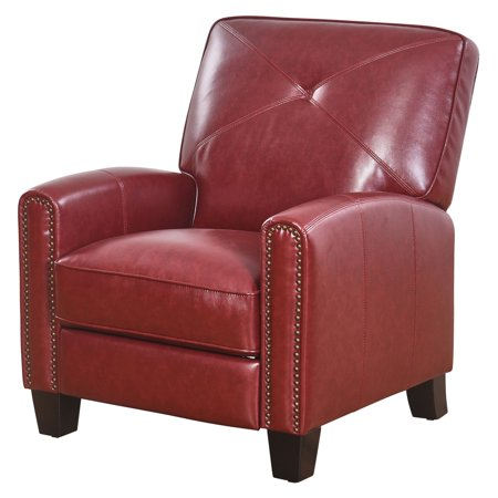 Abbyson Damien Pushback Leather Recliner
