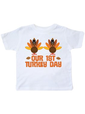 5b6cec2fd26 Product Image Twins 1st Thanksgiving Toddler T-Shirt