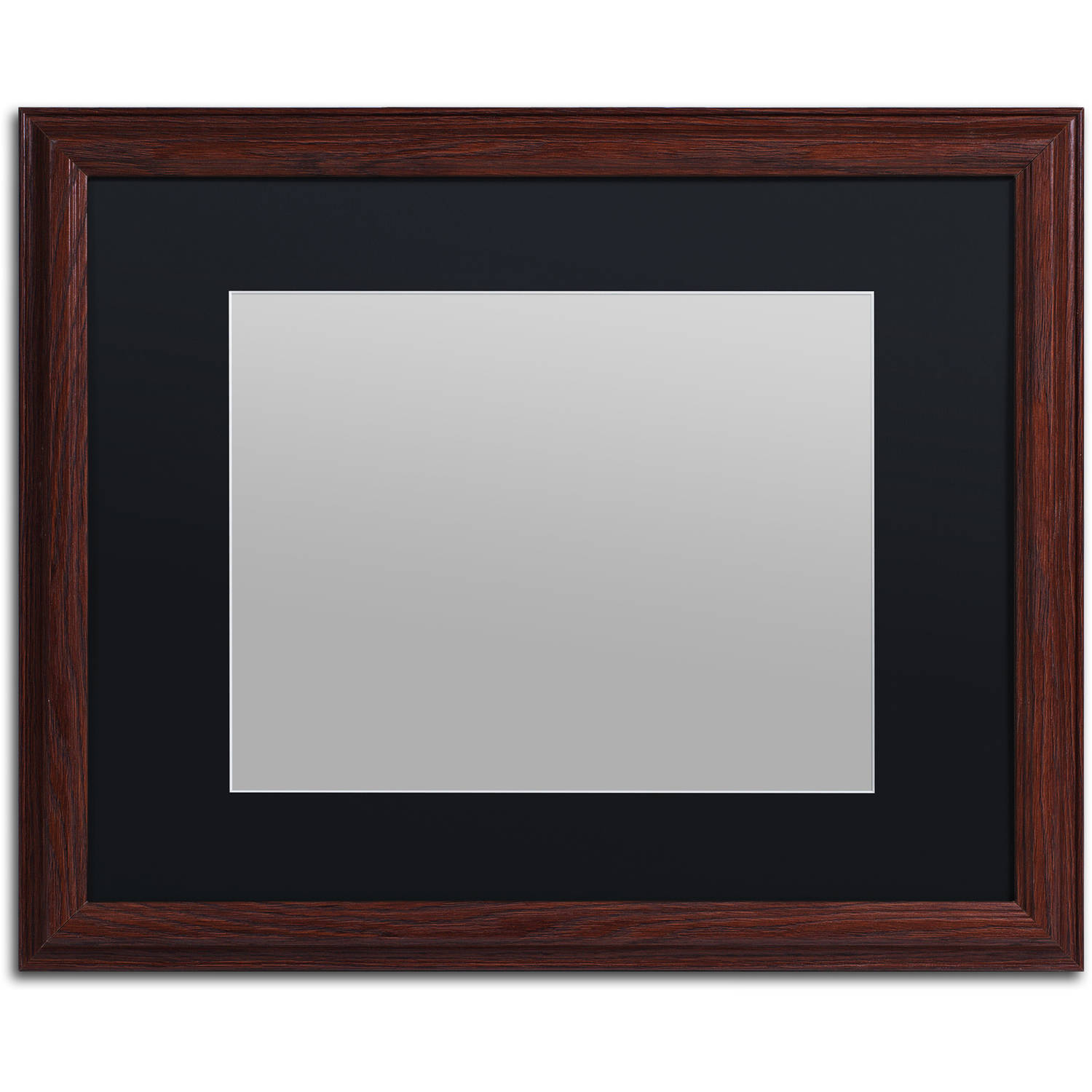 Trademark Fine Art Heavy Duty 16x20 Wood Picture Frame With 11x14