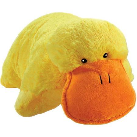 Pillow Pets As Seen On Tv Pillow Pet Lucky Duck Walmartcom
