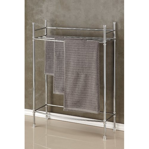 Best Living, Inc. Chrome Towel Stand