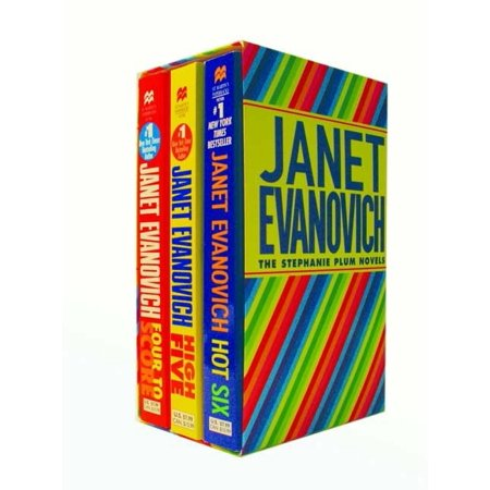 Plum Boxed Set 2 (4, 5, 6) : Contains Four to Score, High Five and Hot