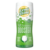 (2 pack) Lemi Shine Dish Detergent Booster Powder, Powered By Natural Citric Extracts, 12oz