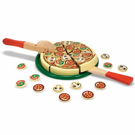 Melissa Doug Wooden Pizza Party Set Pizza 167
