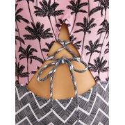 f8a15ef6946aa No Boundaries - Juniors' Palm Sunrise One Piece Swimsuit - Walmart.com