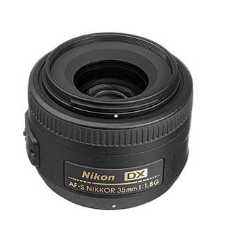 Nikon Nikkor 35mm Lens f/1.8G AF-S, DX (#2183)