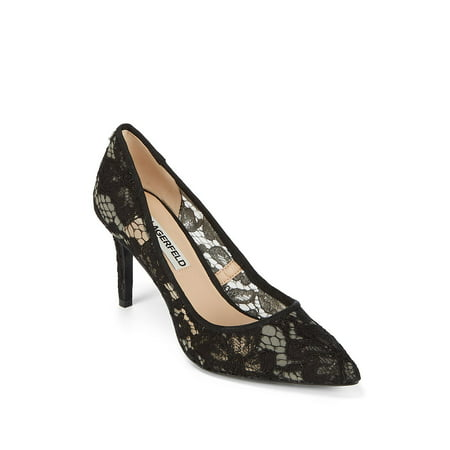 Royale Floral Point Toe Pumps
