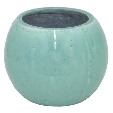 Three Hands Round Ceramic Indoor Planter