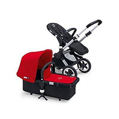 Bugaboo buffalo stroller bundle - red