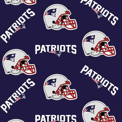 NFL New England Patriots Fleece Fabric