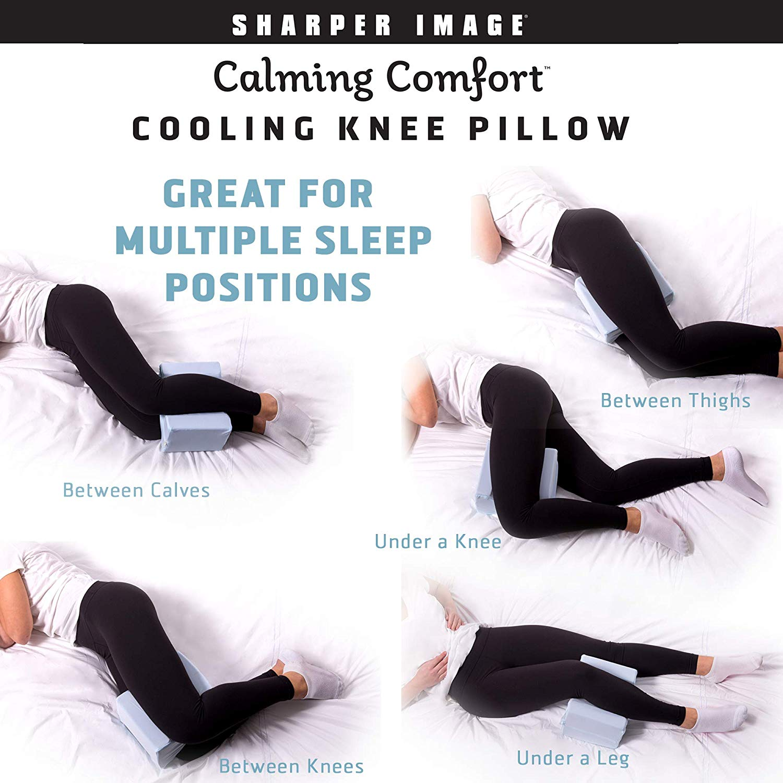 Picture of: Calming Comfort Cooling Knee Pillow As Seen On Tv Walmart Com Walmart Com