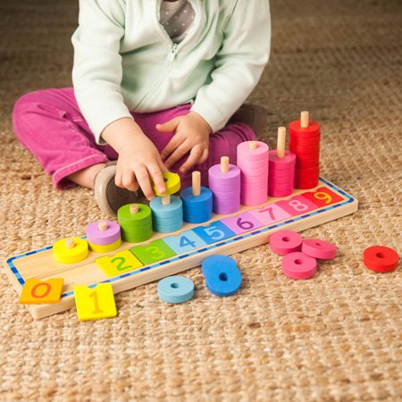 Count and Sort Stacking Tower (Stacking Tower)