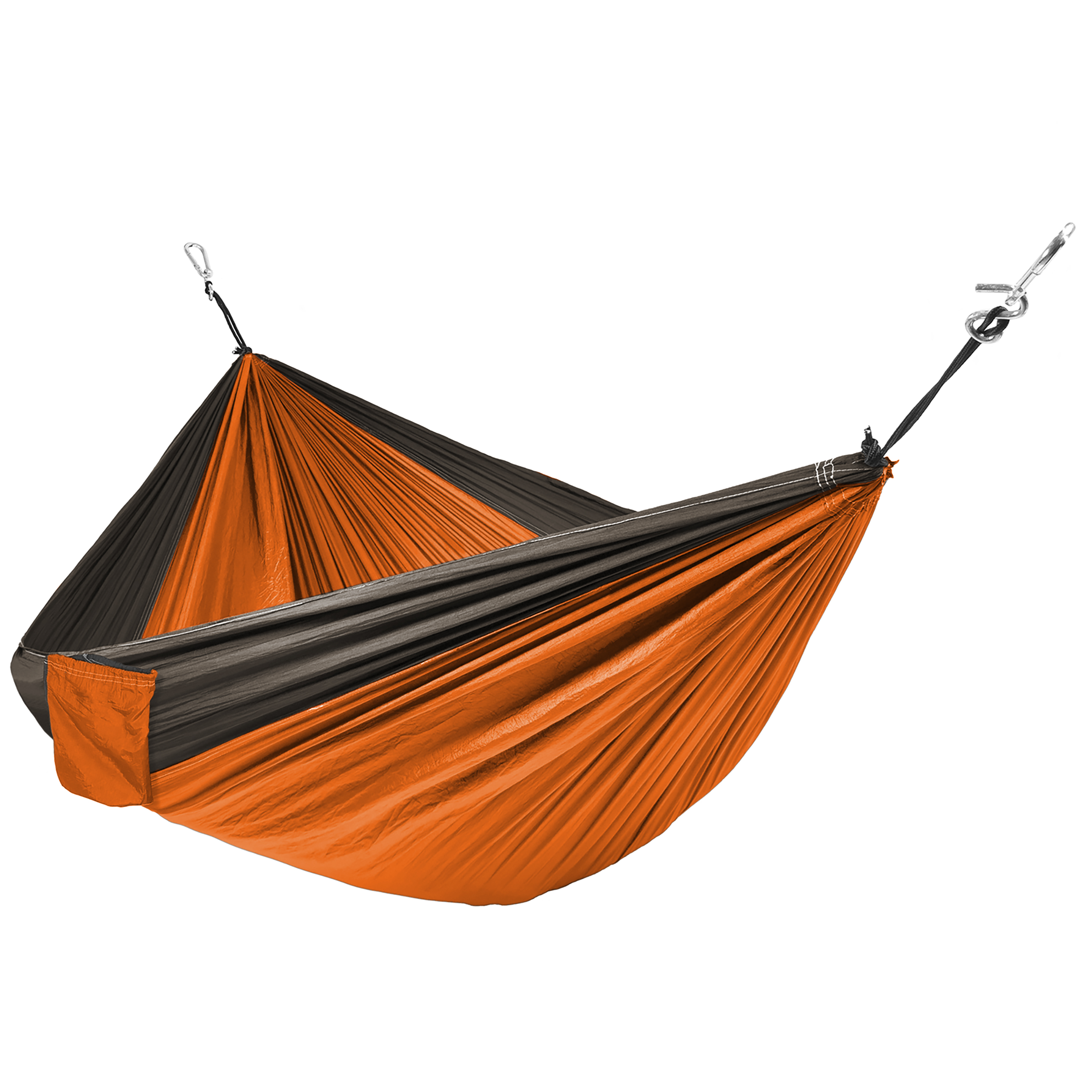 Best Choice Products Portable Parachute Hammock Nylon Hanging Outdoor Camping Patio Orange