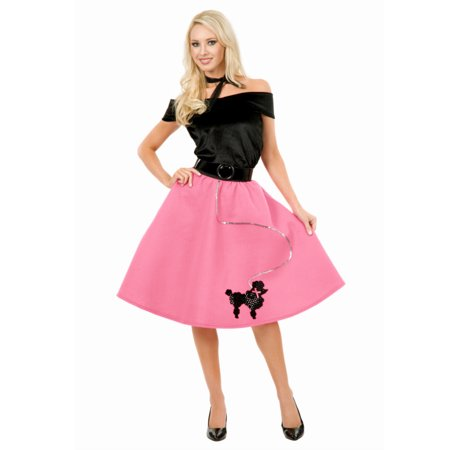 New 50s Poodle Skirt Plus Size Set Costume  In Stock  About Costume Shop