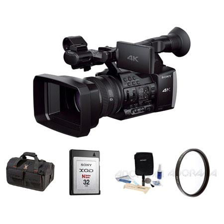 Sony FDR-AX1 Digital 4K Video Camcorder with Basic Accessory Bundle - image 1 de 1