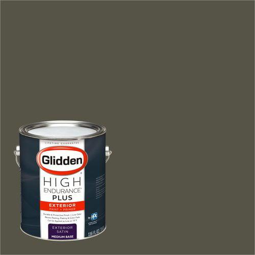 Glidden High Endurance Plus Exterior Paint and Primer, Wild Truffle, #30YY 11/076