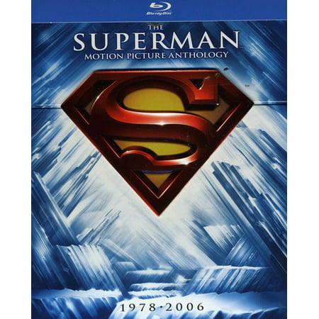 The Superman Motion Picture Anthology 1978 2006  Blu Ray