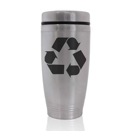 Commuter Travel Coffee Mug - Recycle Symbol (Coffee Mug Recycle)