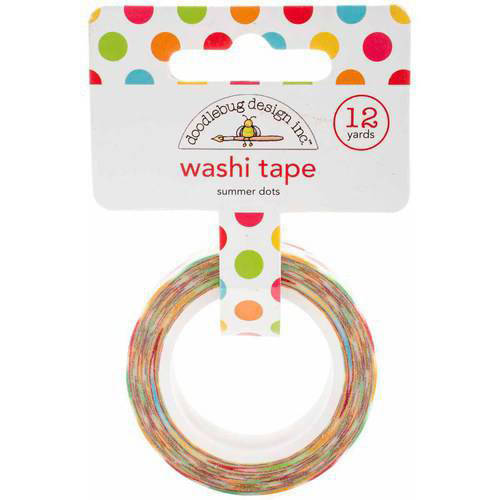 Sunkissed Washi Tape, 8mm, 12yds