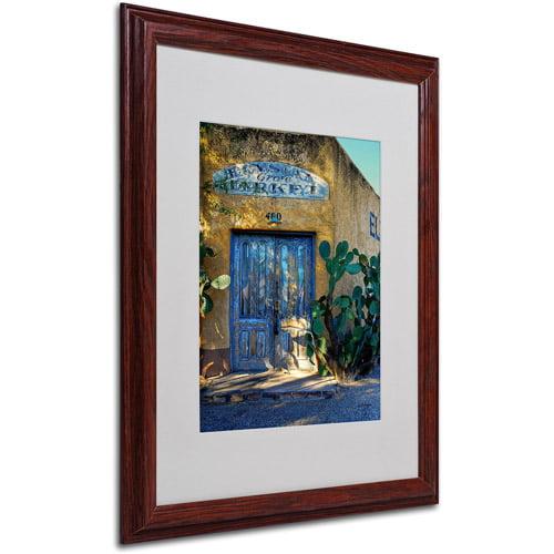 "Trademark Fine Art ""Elysian Grove Market"" by Lois Bryan, Wood Frame"