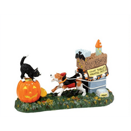 Department 56 Halloween Village Count Dogula 4020239 (Halloween Village Parade 2017)