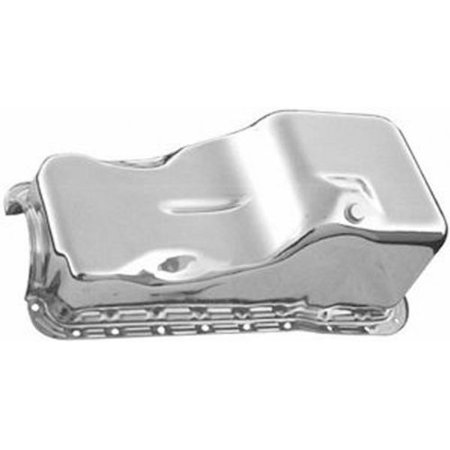Racing Power Co. R9532 RACING POWER CO-PACKAGED Chrome 1969-91 Ford 351W V8 Front Sump Oil (Ford Oil Pan)