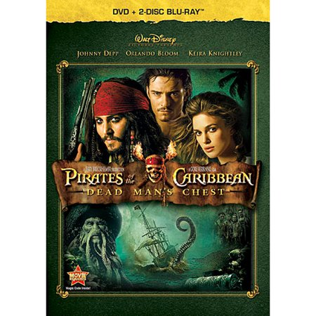 Pirates of the Caribbean: Dead Man's Chest (DVD + 2-Disc Blu-ray)](Disney Jack And The Neverland Pirates)