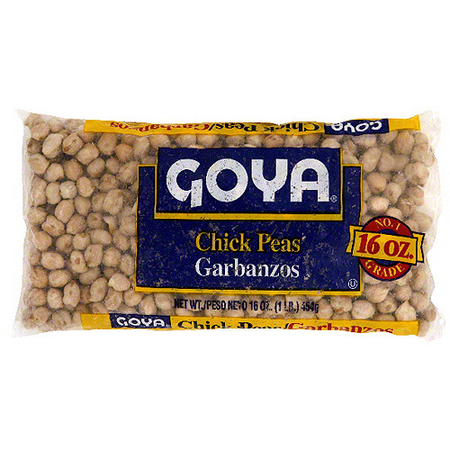 Goya Chick Peas, 1 lb (Pack of 24)