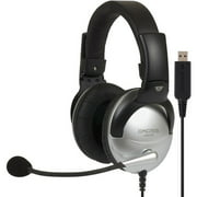 Koss Full-Size USB Communication Headset with Noise Reduction Microphone, SB45 USB