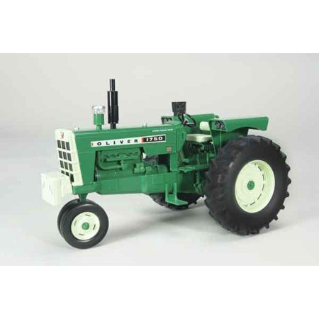 Oliver 1750 Gas Narrow Front Tractor with Radio and Front Weight 1/16 Diecast Model by Speccast (Weights Tractor)