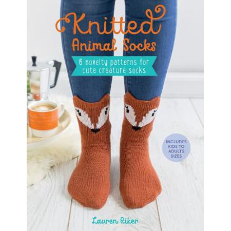 Knitted Animal Socks 6 Novelty Patterns For Cute Creature Socks