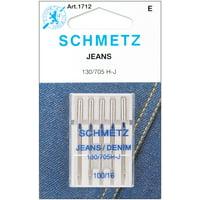 Schmetz Size 100/16 Jean & Denim Machine Needles, 5 Count