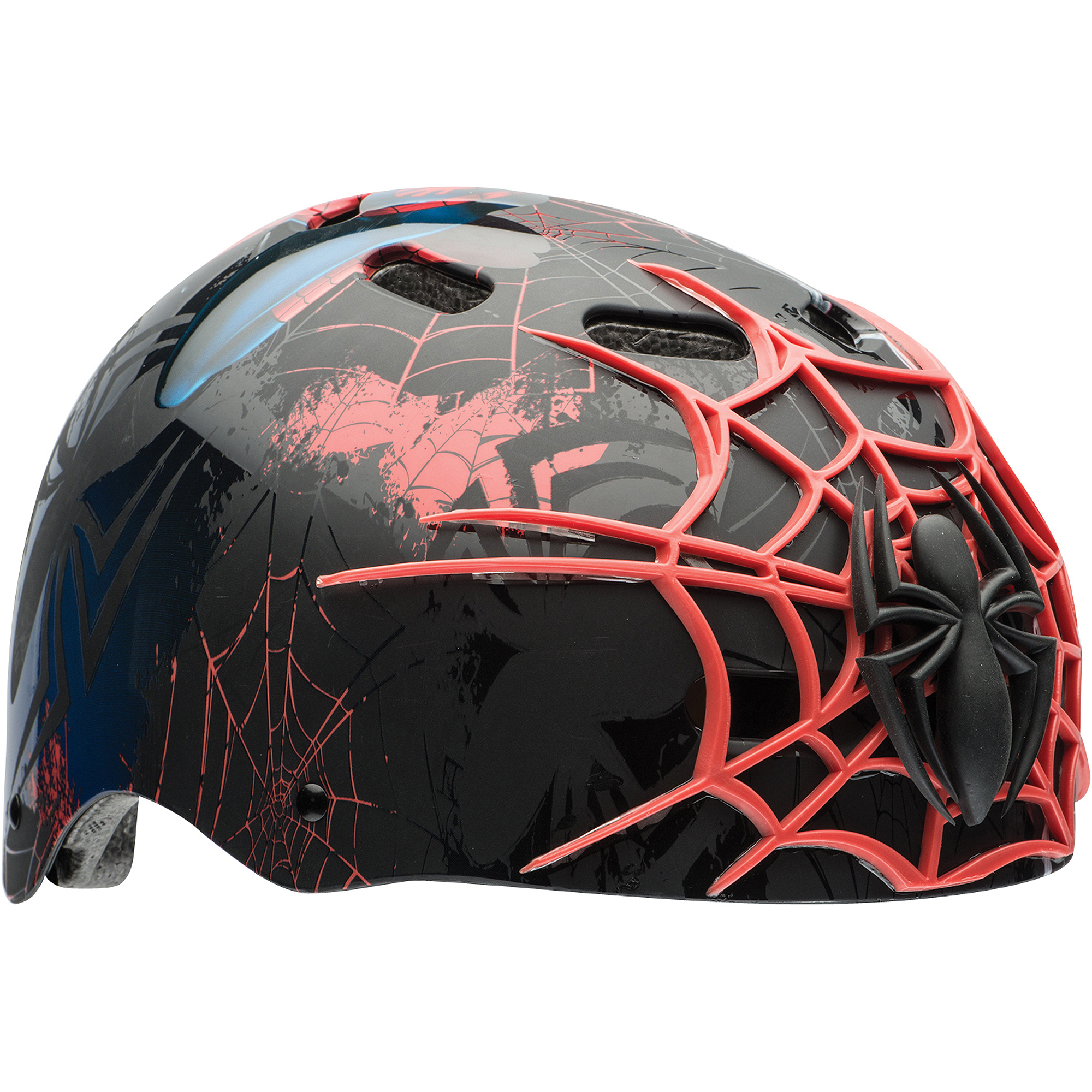 Bell Sports Marvel Spider-Man Child 3D Helmet, Black