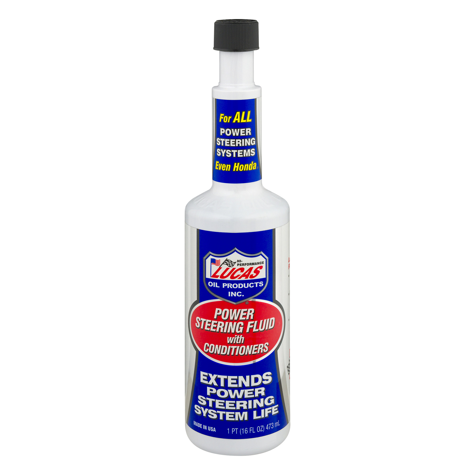Lucas Power Steering Fluid with Conditioners, 1.0 PT